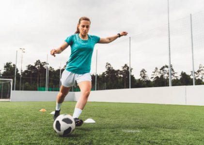 Il y a de l'évolution dans les équipements d'un footballeur